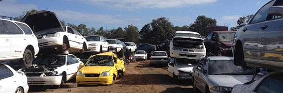 car wreckers Menzies Creek service