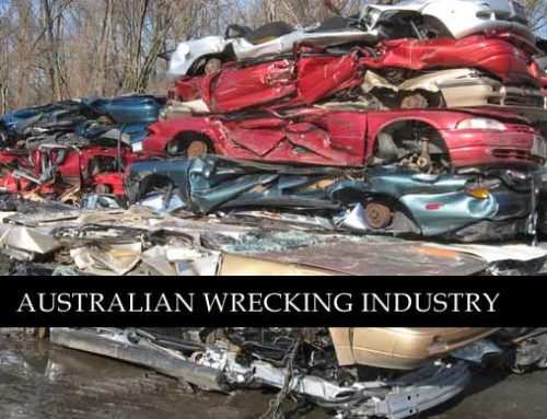 Australian Auto Wrecking and Dismantling Industry