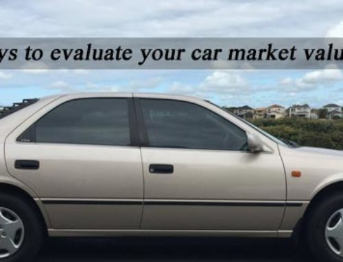 Ways to Evaluate Your Car Market Value